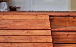 holz rampe treppe garten gartenbau