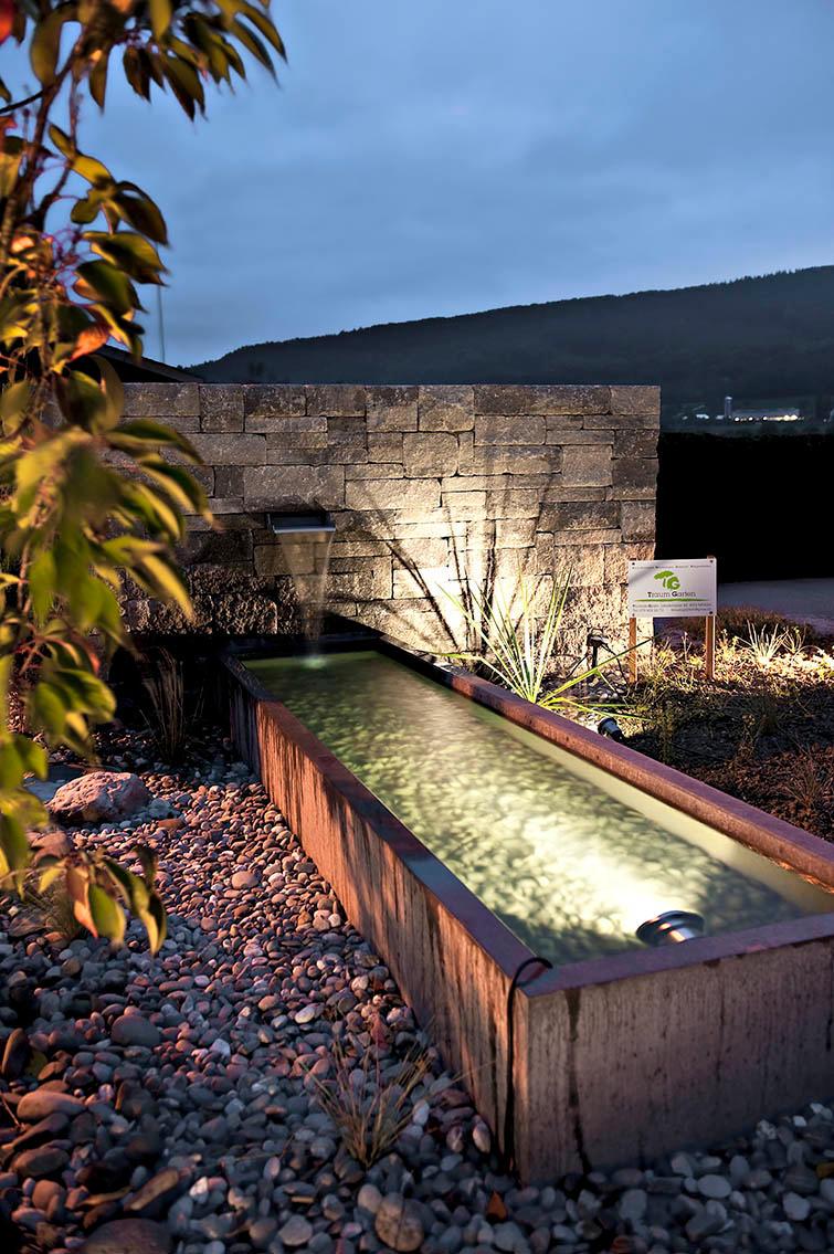 Licht Im Garten Traum Garten Gmbh Gartenbau Schweiz Aargau