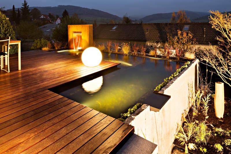 Licht im Garten - Traum Garten GmbH - Gartenbau Schweiz Aargau ...