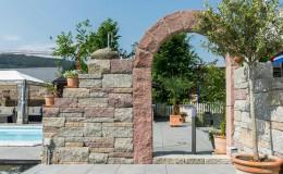 Gartenbau Torbogen Mauer