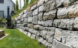 gartenbau gartenmauer stüztmauer
