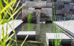 Gartenbau Wasserfall Bachlauf