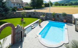 Gartenbau Pool Swimingpool Gartenpool