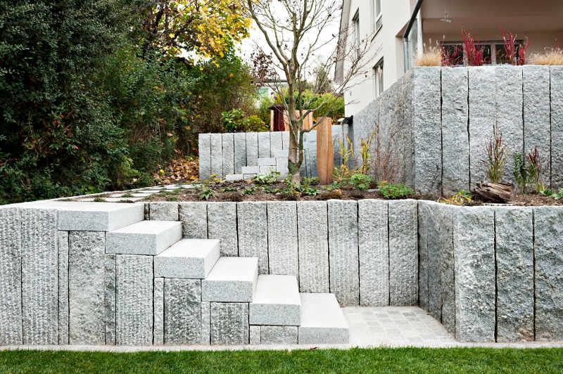 Steintreppe Garten gartentreppen traum garten gmbh gartenbau schweiz aargau