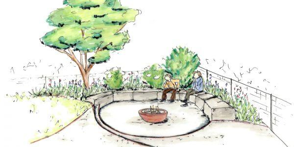 Gartenskizze 5