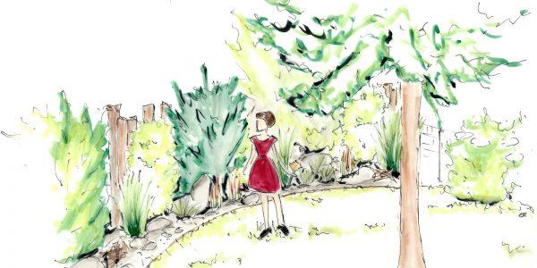 Gartenskizze 4