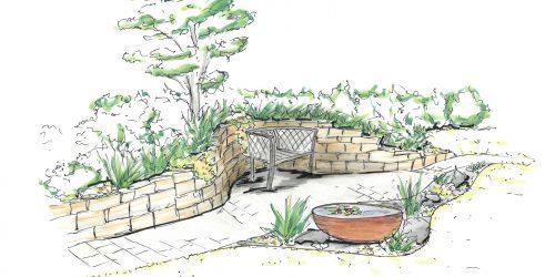 Gartenskizze 3